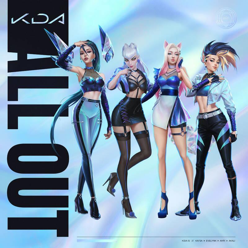 League of Legends Следующий мини-альбом виртуальной группы K/DA выйдет в ноябре