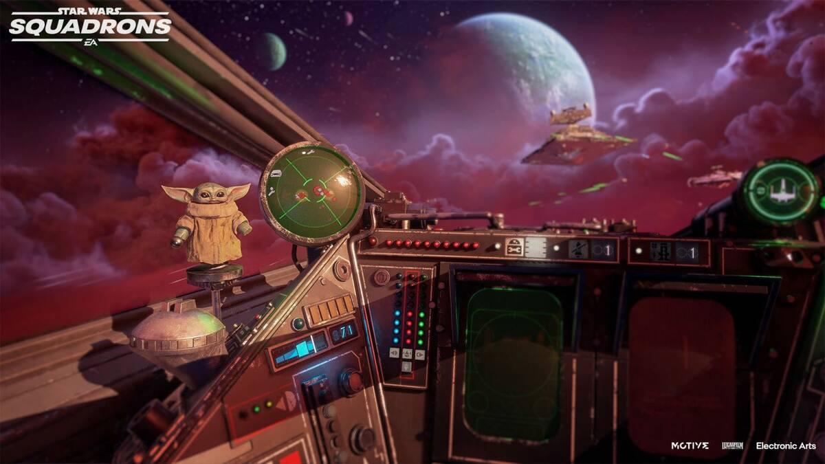 Star Wars: Squadrons получит тематическое обновление Мандалорец