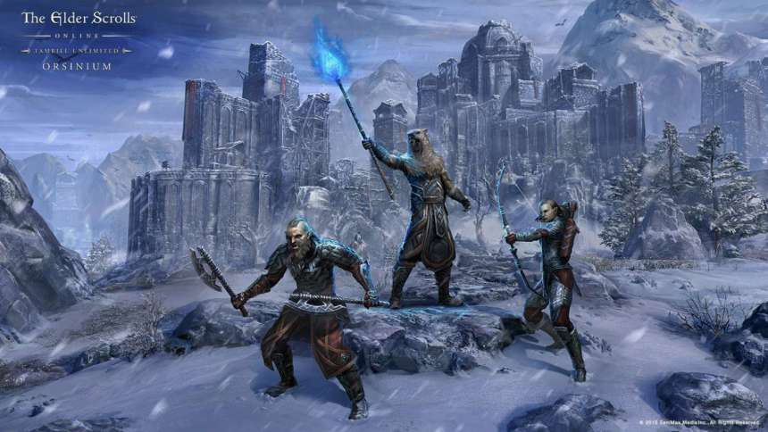 The Elder Scrolls Online Tamriel Unlimited for Xbox One