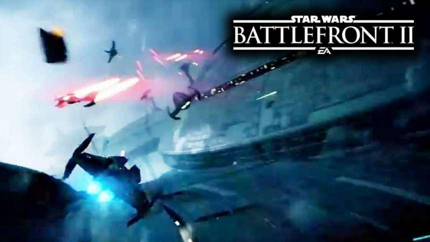 «Битвы звездных истребителей» в новом трейлере Star Wars: Battlefront 2