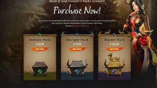 Скриншот или фото к игре Blade and Soul из публикации: Начало продаж наборов раннего доступа для западной версии Blade & Soul