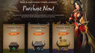 Скриншот или фото к игре Blade and Soul из публикации: Blade & Soul EU/NA – Дата выхода игры и планы на будущее