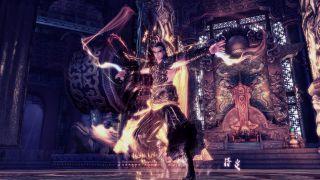 Скриншот или фото к игре Blade and Soul из публикации: Релиз класса Warlock для евро версии Blade & Soul
