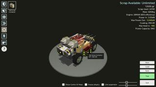 Scraps: Modular Vehicle Combat