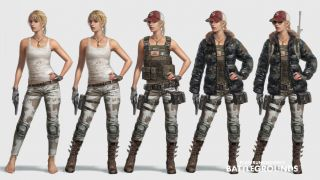 Скриншот или фото к игре Playerunknown`s Battlegrounds из публикации: Блог разработчиков Battlegrounds о создании персонажей