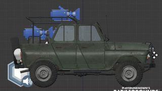 Скриншот или фото к игре Playerunknown`s Battlegrounds из публикации: Реализация транспорта в Playerunknown`s Battlegrounds