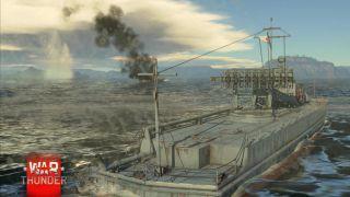 Скриншот или фото к игре War Thunder из публикации: Морские сражения в War Thunder