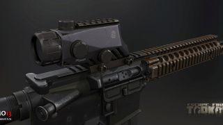 Скриншот или фото к игре Escape from Tarkov из публикации: Escape from Tarkov: модели прицелов оружия
