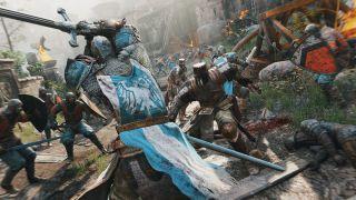 Скриншот или фото к игре For Honor из публикации: For Honor: крупнейшая альфа для Ubisoft