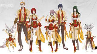 Скриншот или фото к игре Blade and Soul из публикации: Завершение конкурса костюмов в Blade and Soul
