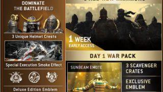 Скриншот или фото к игре For Honor из публикации: Утечка информации о сезонном пропуске For Honor