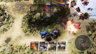 Скриншот или фото к игре Halo Wars 2 из публикации: Подробная статистика ОБТ режима Blitz в Halo Wars 2