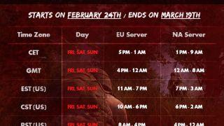 Расписание ЗБТ и системные требования Playerunknown`s Battlegrounds