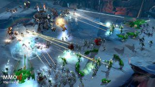 Скриншот или фото к игре Warhammer 40,000: Dawn of War 3 из публикации: Стартовал прием заявок на ЗБТ Warhammer 40,000: Dawn of War 3