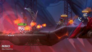 Скриншот или фото к игре ONRAID из публикации: 2D-шутер Onraid стал бесплатным