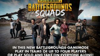 В Playerunknown's Battlegrounds добавили отряды