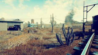 Скриншот или фото к игре Playerunknown`s Battlegrounds из публикации: Изображения пустынной карты PlayerUnknown's Battlegrounds