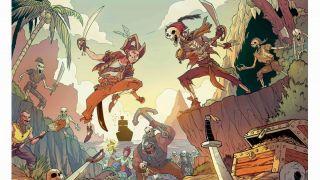 Скриншот или фото к игре Sea of Thieves из публикации: Sea of Thieves обзаведется серией комиксов