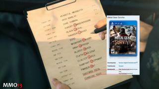 «Кодзима навсегда»: в Metal Gear Survive найдено скрытое послание