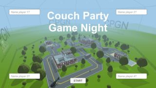 Couch Party Game Night