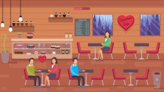Valentines Cafe