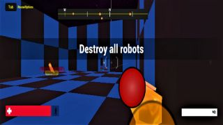 FPS  Robot Attack Minigame