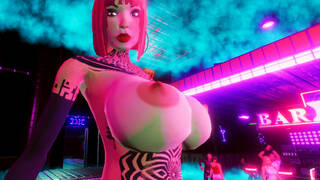 Cyberpunk naughty Girls XXX