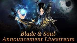 Запись стрима-анонса англоязычной версии Blade & Soul