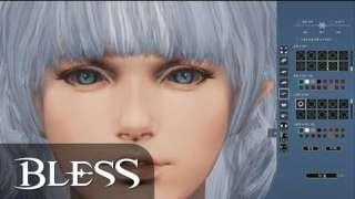 Демонстрация редактора персонажей Bless