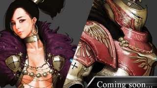 Black Desert: концепт-арт пробужденного оружия для Колдуньи и Варвара