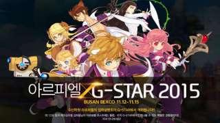 Ar:piel Online - Геймплей, сюжет и няшки с G*Star 2015