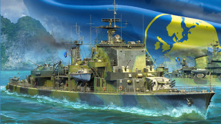 В World Of Warships появились европейские эсминцы