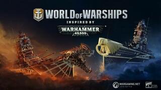 В World of Warships стартовал кроссовер-ивент с Warhammer 40,000
