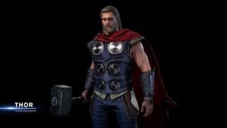 Marvels Avengers  Тор в повседневной одежде