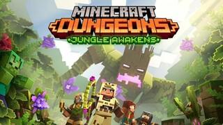 Для Minecraft Dungeons вышло первое DLC Джунгли пробуждаются