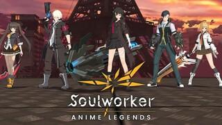 Анонсирована мобильная Action RPG SoulWorker Anime Legends