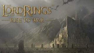 Опубликован первый геймплей мобильной MMORTS The Lord of the Rings Rise of War