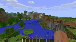 Minecraft спустя 9 лет игроки наконец смогли найти мир из заглавного меню