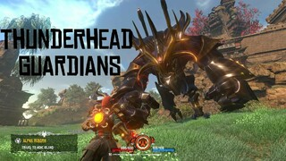 Разработчики Almighty Kill Your Gods показали босса Thunderhead Guardian