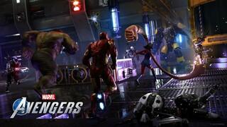Marvels Avengers  Подробности ЗБТ, трейлер Соколиного глаза и новый геймплей