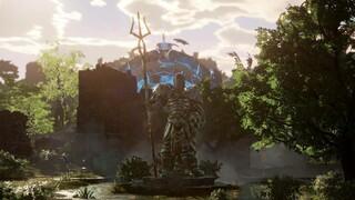 Новый геймплей Ashes of Creation  Эффекты, собирательство, бои и плавание
