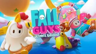 Мультиплеерная аркада Fall Guys Ultimate Knockout вышла в релиз и обрела большую популярность