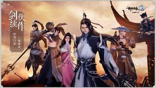В Китае состоялся релиз мобильной MMORPG Swordsman Love 2 Sword Song