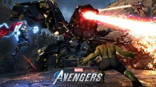 Началось закрытое бета-тестирование Marvels Avengers на PlayStation 4