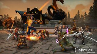 MMORPG Crowfall перейдет в стадию ЗБТ на следующей неделе