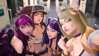 Riot Games тизерит новый музыкальный трек от KDA