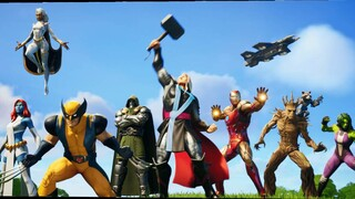 В Fortnite начался сезон 4, посвященный героям Marvel