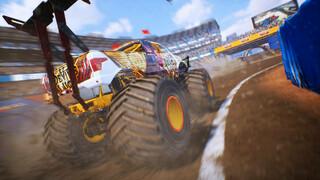 Трейлер симулятора монстр-траков Monster Truck Championship