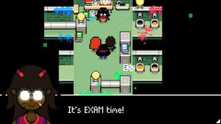 Геймплей пиксельной пошаговой RPG Ikenfell