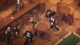 Показан геймплей изометрического броулера Midnight Fight Express